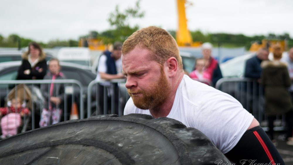 Strongman training on a budget in a commercial gym